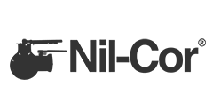 Nil-Cor Logo in grey